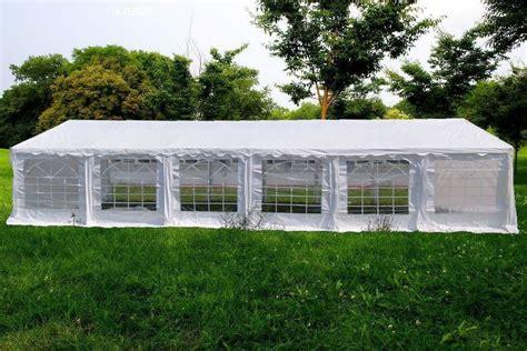 40x20 heavy duty commercial canopy pavilion fair shelter