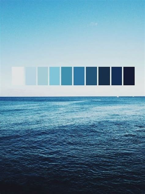 shades of blue design shades of blue sea sky my brainbox full color