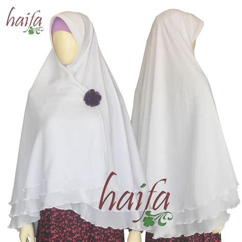 Jilbab Instan Warna Putih jilbab semi instan haifa tiga lapis edisi ramadhan rumah jahit haifa