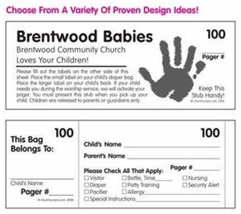 Nursery Security Stickers