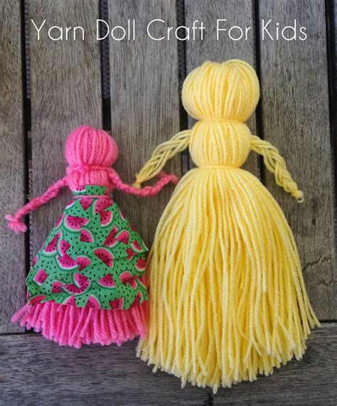 doll how to make how to make yarn dolls in 19 different ways guide patterns