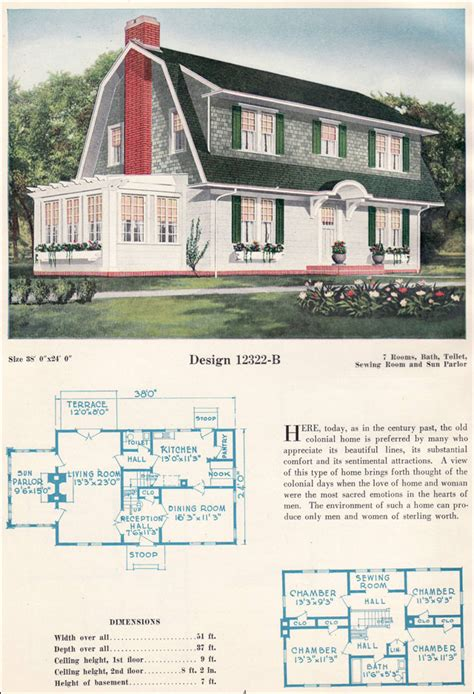 dutch colonial revival house plans dutch colonial revival gambrel roof with shed dormers