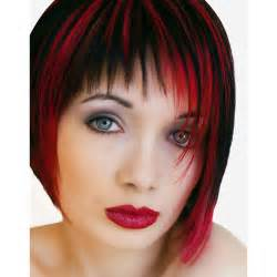 hair highlights intense red hair dye