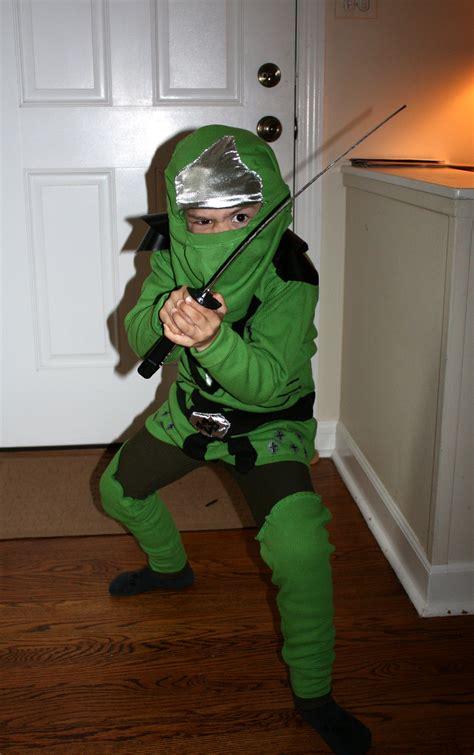 guys homemade lego ninjago halloween costume