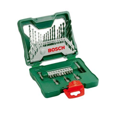 Mata Obeng Variasi Bosch X Line 25 Screwdriver Bits Set jual bosch x line set mata bor dan mata obeng kombinasi 33 pcs harga kualitas