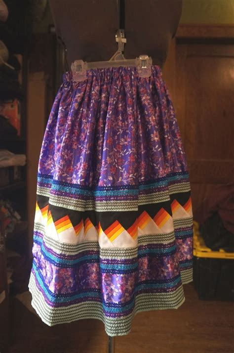 Patchwork Natives - seminole american patchwork skirt seminole