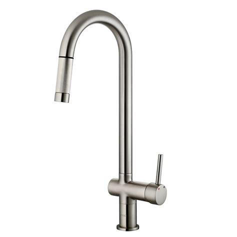 vigo gramercy single handle pull  kitchen faucet reviews wayfair