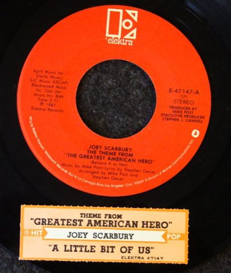theme song greatest american hero theme from greatest american hero cd covers