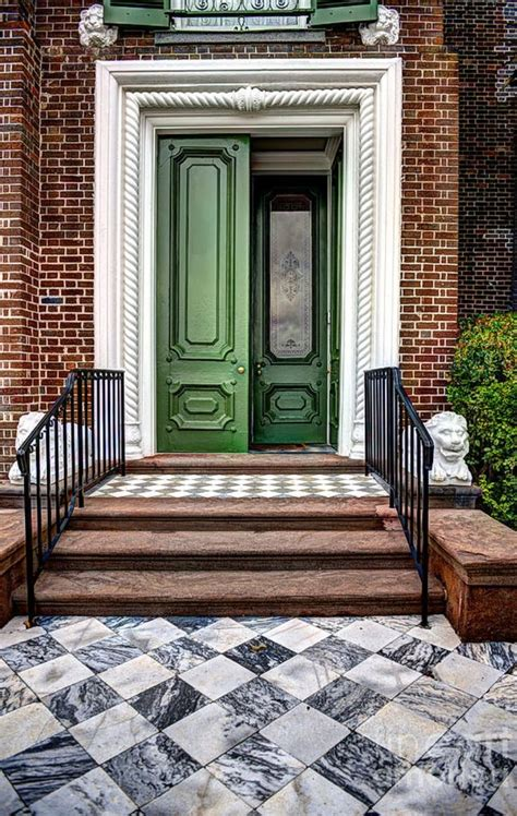 Carolina Front Door Doors Of Historic Charleston Print By Dale Powell