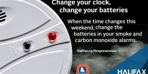 News Smoke Alarms With Parents Voice by Change Your Clocks Change Your Batteries Haligonia Ca