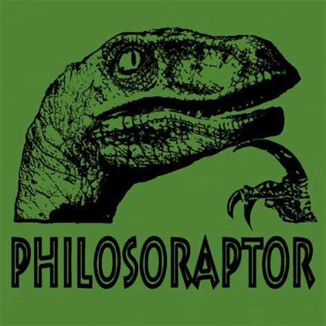 Thinking Dinosaur Meme - philosoraptor philtheraptor twitter