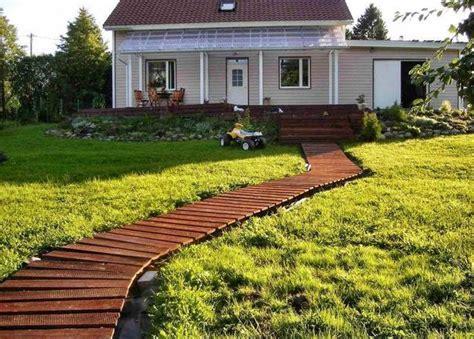 garden walkway 30 green design ideas for beautiful wooden garden paths