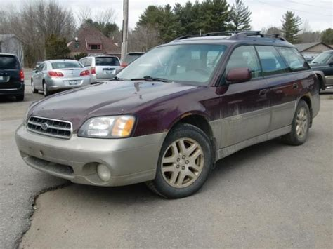 2000 Subaru Outback Legacy by 2000 Subaru Legacy Outback Owners Manual Pdf Format
