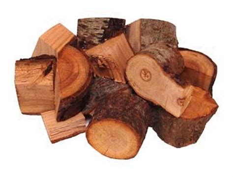 Peach Wood Chunks 1 2 Cu Ft