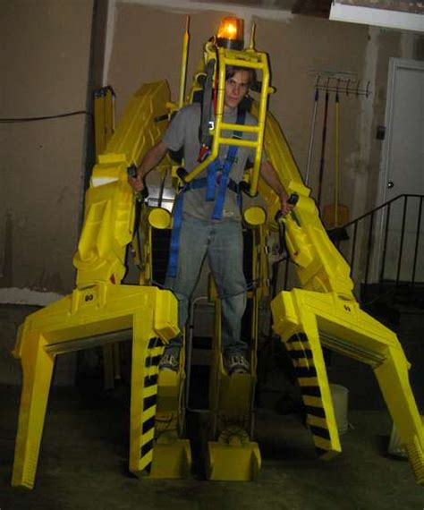 check out this radical avengers themed house geektyrant awesome home made aliens power loader costume geektyrant
