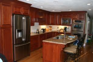 exceptional Cherry Cabinets With Granite Countertops #1: norwood_1.jpg