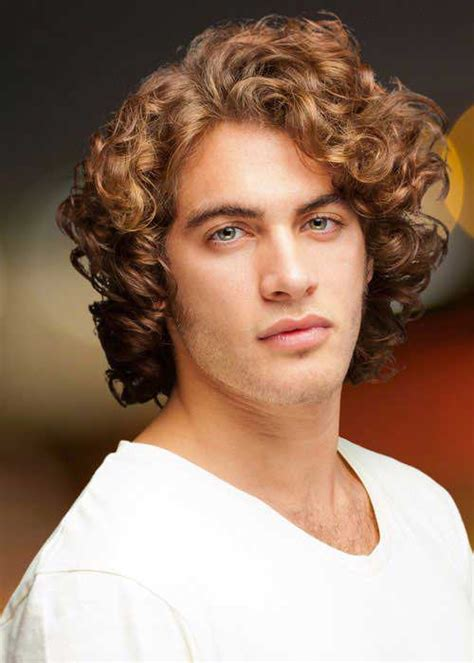 hairstyles for boys with thick wavy hair 30 curly mens hairstyles 2014 2015 mens hairstyles 2018
