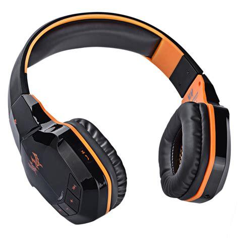 Kotion Each 2 In 1 Bluetooth Wireless Gaming Headset Bass B3505 kotion each 2 in 1 bluetooth wireless gaming headset bass b3505 black orange