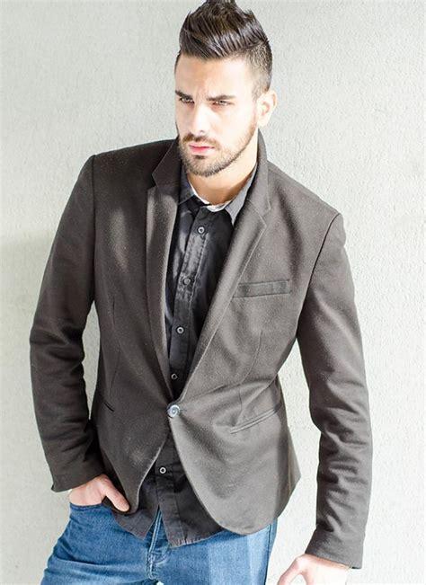 men dress casual sport coat mens sport coats and jeans jacketin