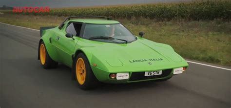 Lancia Stratos Kit Car Usa The Lancia Stratos Is Back In The Form Of A Kit Car