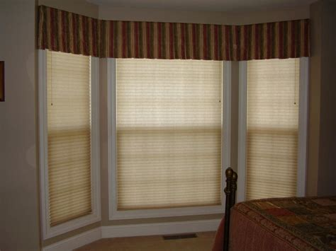 box bay window treatments candlelier window creations tailored valances