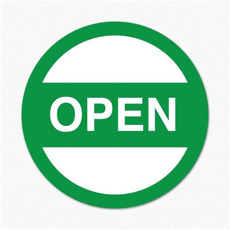 what is open on open circle sticker genius