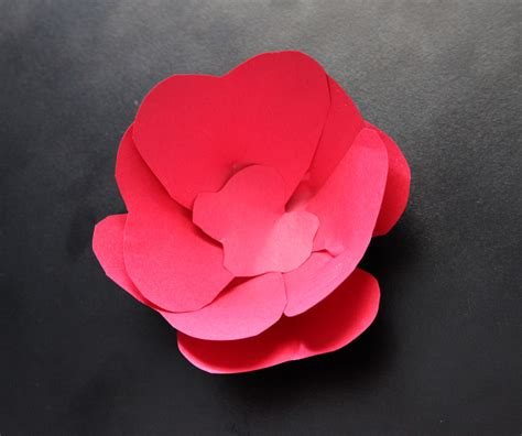 How To Make 3d Flowers Out Of Construction Paper - how to make 3d flowers out of construction paper 28