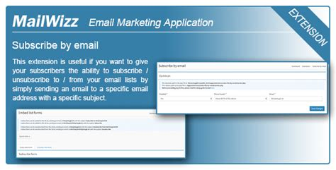 Mailwizz Ema Subscribe By Email Codeholder Net Mailwizz Email Templates