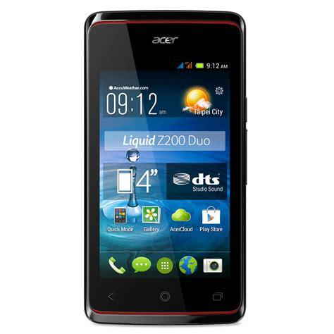 mobile acer acer liquid z200 duo noir mobile smartphone acer sur ldlc