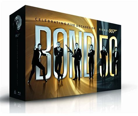the complete james bond all 22 james bond films to be released in one blu ray box set this fall collider