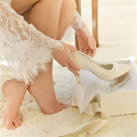 lace wedding shoes ivory lace wedding shoes lace bridal shoes house of elliot