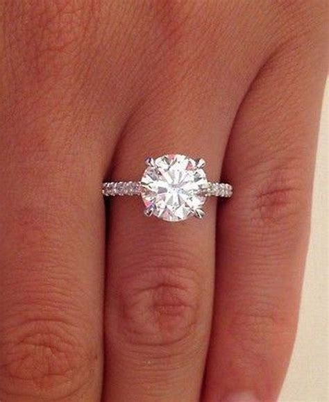 Solitaire Engagement Ring by Best 25 Solitaire Engagement Rings Ideas On
