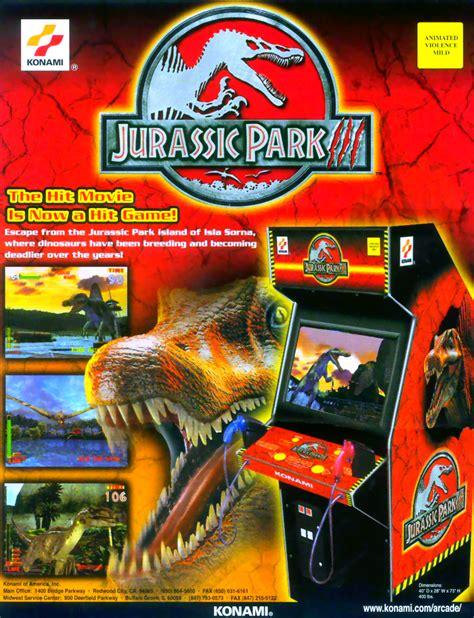 emuparadise arcade jurassic park 3 ver ebc rom