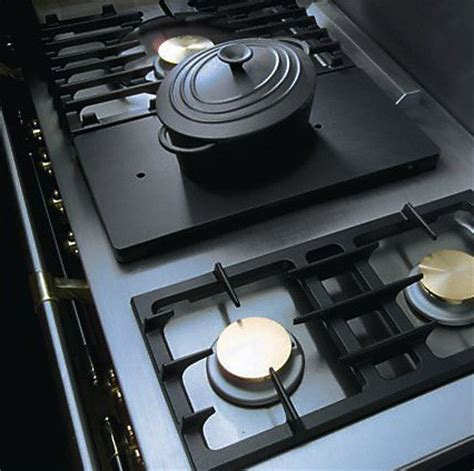 simmer plate for gas cooktop portable simmer plate lacanche usa
