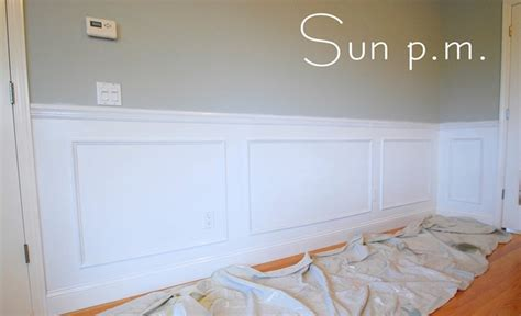 Frame Wainscoting by Adventures In Wainscoting Centsational