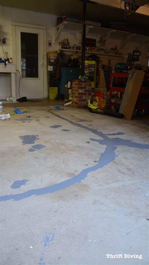 paint garage floors   part epoxy paint