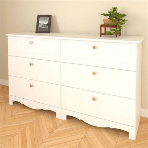 6 Drawer Dresser White by Nexera Dixie 6 Drawer Mirror Set White Dresser Ebay