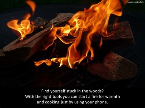 libro to light a fire how to light a fire with your phone