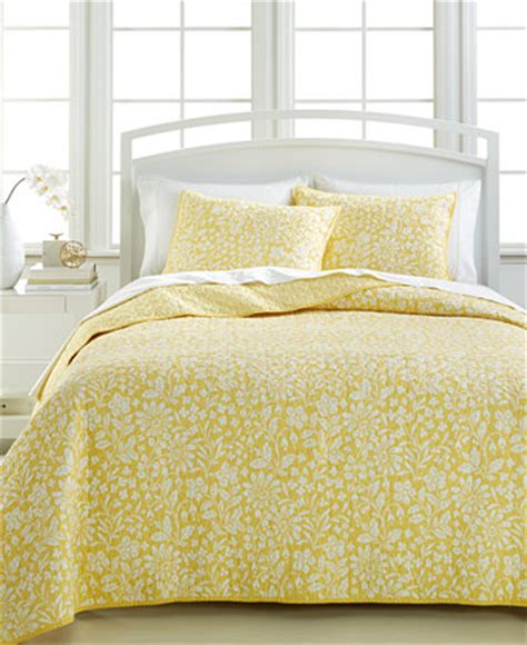 Closeout Quilts by Closeout Martha Stewart Collection Georgina Meadow Quilts