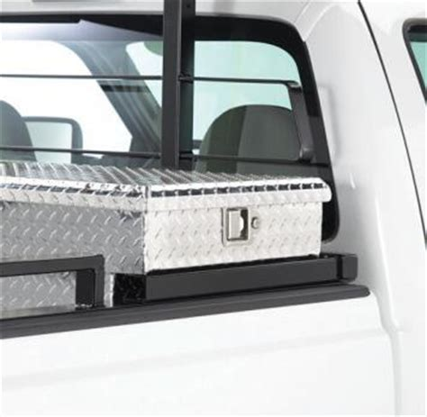Back Rack Toolbox Mount by Cab Guards