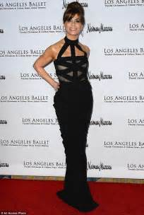 Paula Abdul Is A Princess by Paula Abdul And Seymour Attend The Ballet Gala