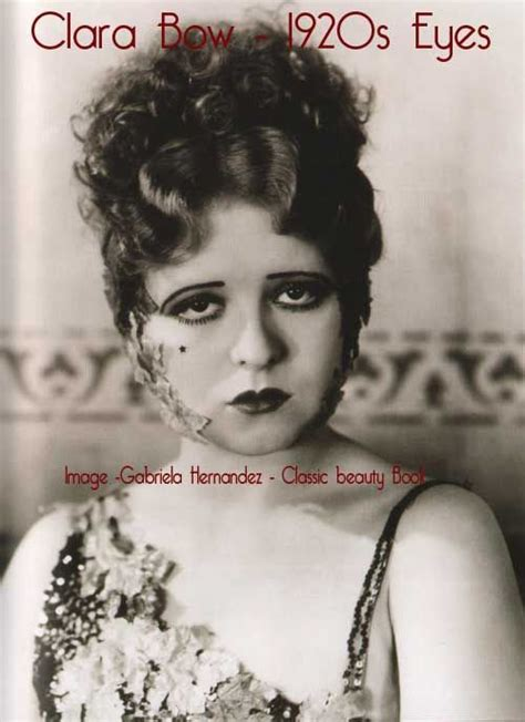 1920 make up pictures hairstyles clara bow 1920s eye makeup look 1920s makeup