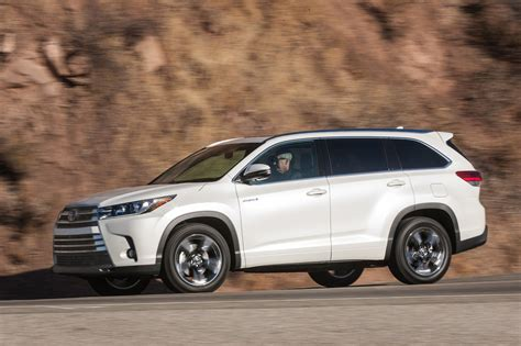 2017 jeep highlander 2017 toyota highlander hybrid reviews and rating motor trend