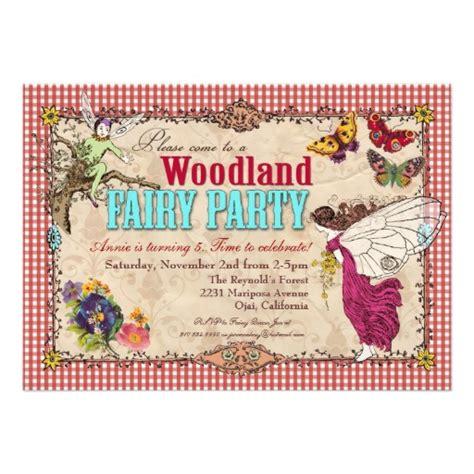 8 Best Images Of Woodland Fairy Invitation Printable Free Woodland Invitation Template