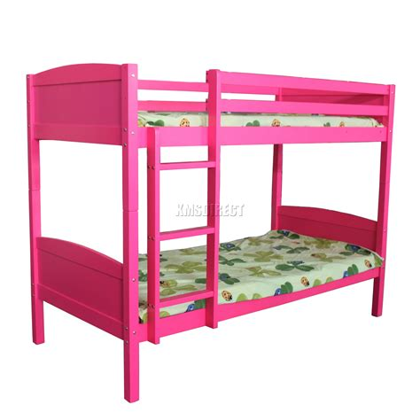 Ebay Bunk Beds With Mattresses Westwood Bunk Bed 3ft Wood Wooden Frame Children Sleeper No Mattress Single New Ebay