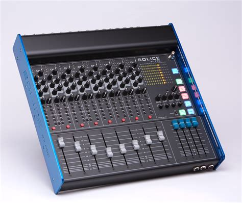 8 Audio Channel by Psc Solice Solice 8 Channel Audio Mixer Pro Sound