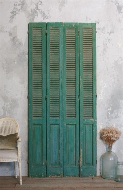 Shutter Doors For Closets 36 Best Images About Shutter Doors On Pinterest Closet Doors Antiques And