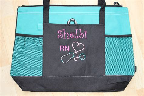 personalized nurse tote bags versatile tote bag perfect