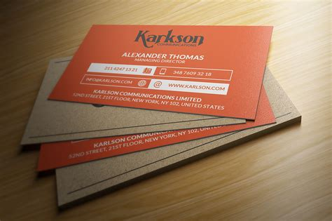 behance business card template free business cards template on behance