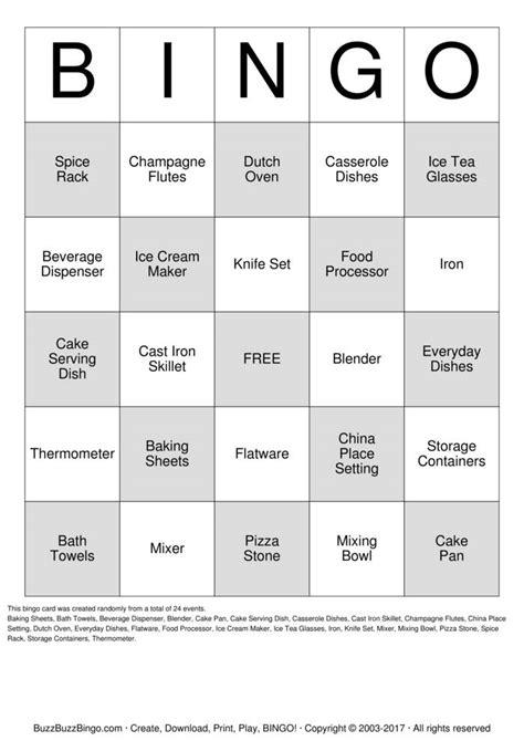 custom bingo card template free custom bingo cards to print and customize